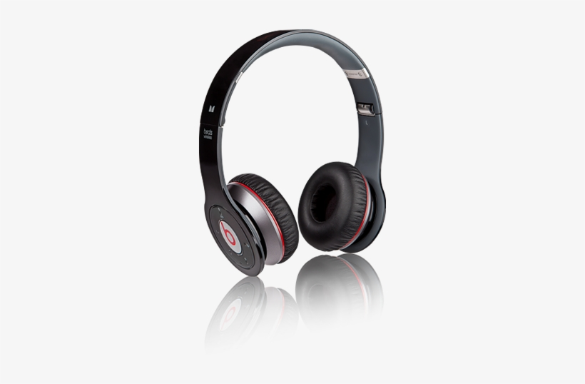 Wireless Bluetooth Headphones Beats By Dr Beats Audio By Dr Dre 440x510 Png Download Pngkit