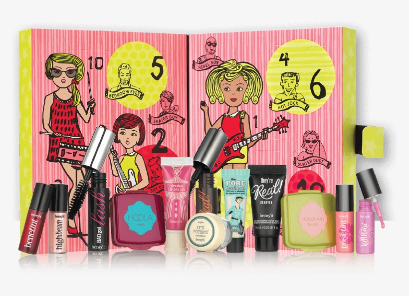 These Beauty Themed Advent Calendars Will Make Perfect Benefit Girl O Clock Rock Debenhams Exclusive Gift 800x543 Png Download Pngkit