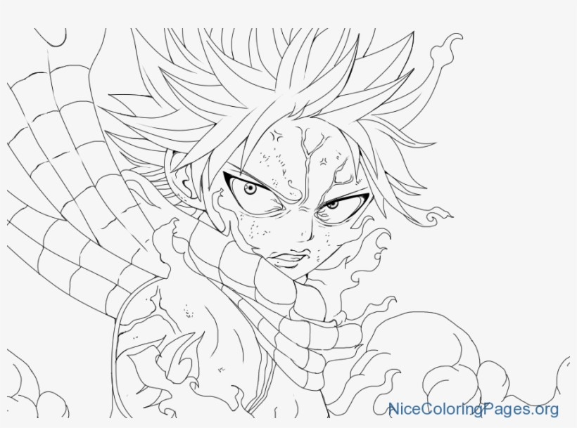 Natsu Dragneel Coloring Pages N3 900x625 Png Download Pngkit
