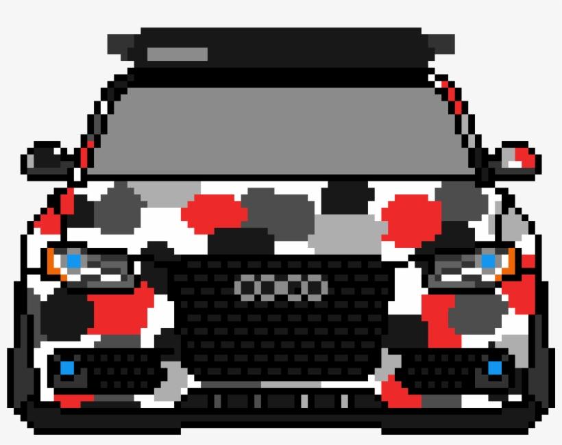 Audi A4 Pixel Art 3000x3000 Png Download Pngkit