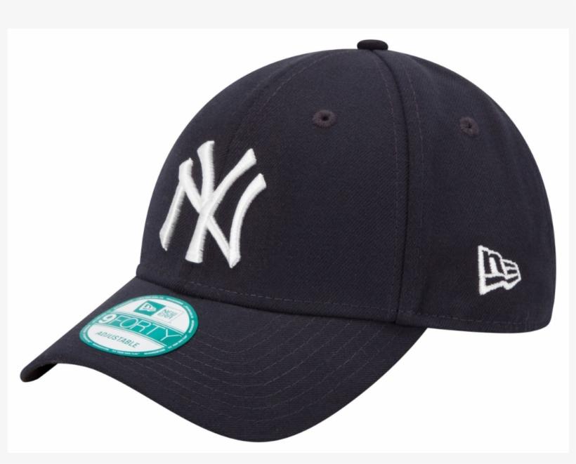 80dfe9a81f5 New York Yankees Ny New Era 9forty Mlb The League Adjustable - New Era Mlb  New York Yankees 9forty Cap Navy