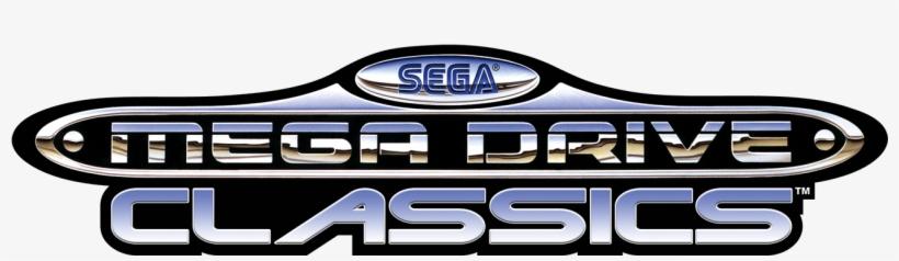 Sega Mega Drive Classics Logo Sega Mega Drive And Genesis Classics Logo 1382x396 Png Download Pngkit