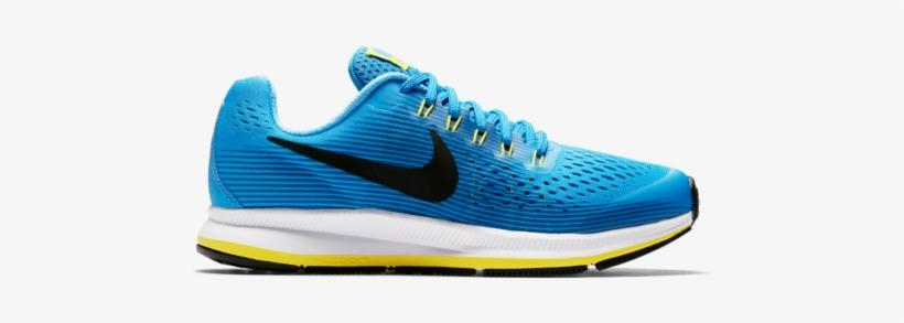 b9a95ea52f65f Nike Zoom Pegasus 34 Gs Blue Black Kids Running Shoes - Mizuno Wave Rider  22 Donna