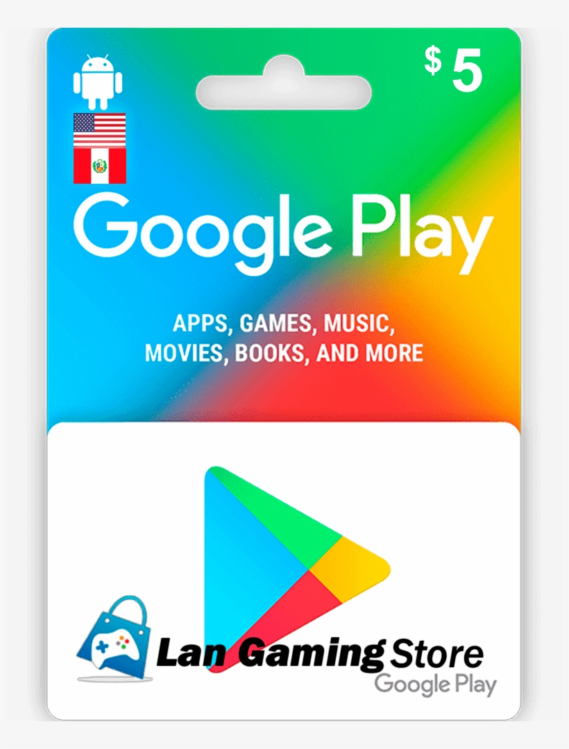 Google Play 5 Dolares Google Play Gift Card 50 800x1000 Png Download Pngkit