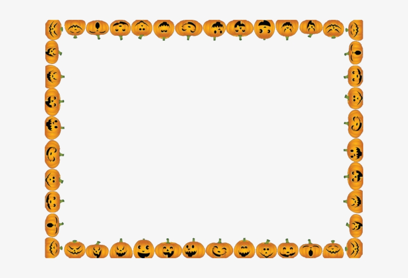 Halloween Border Clipart Free Download Clip Art Halloween Page Border Png 640x480 Png Download Pngkit