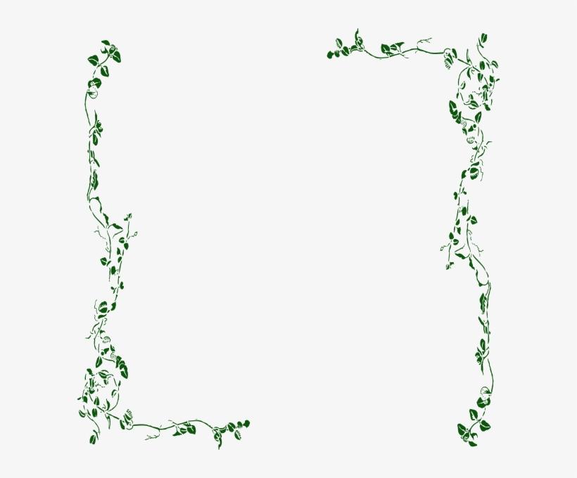 Ivy Vine Clip Art Vine Border Png 600x600 Png Download Pngkit