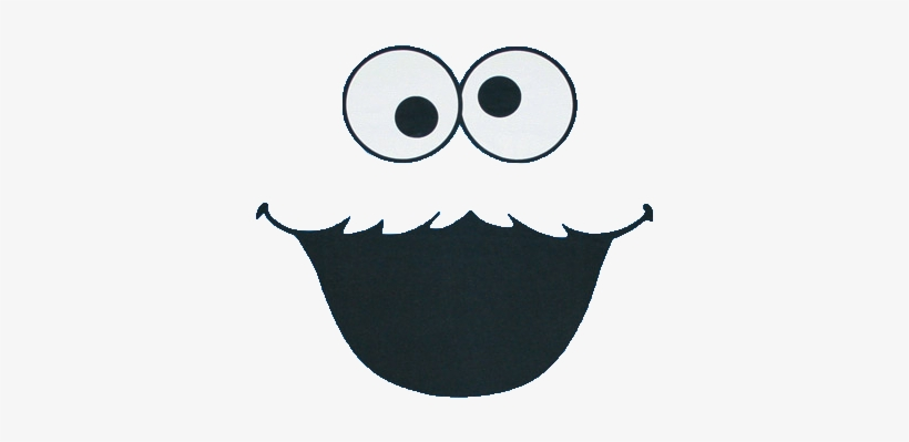 Cookie Monster Background Png Download Cookie Monster Face