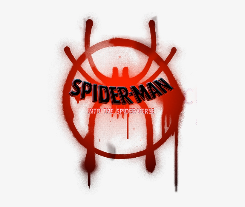 Spiderman Into The Spider Verse Logo Png 501x616 Png Download Pngkit