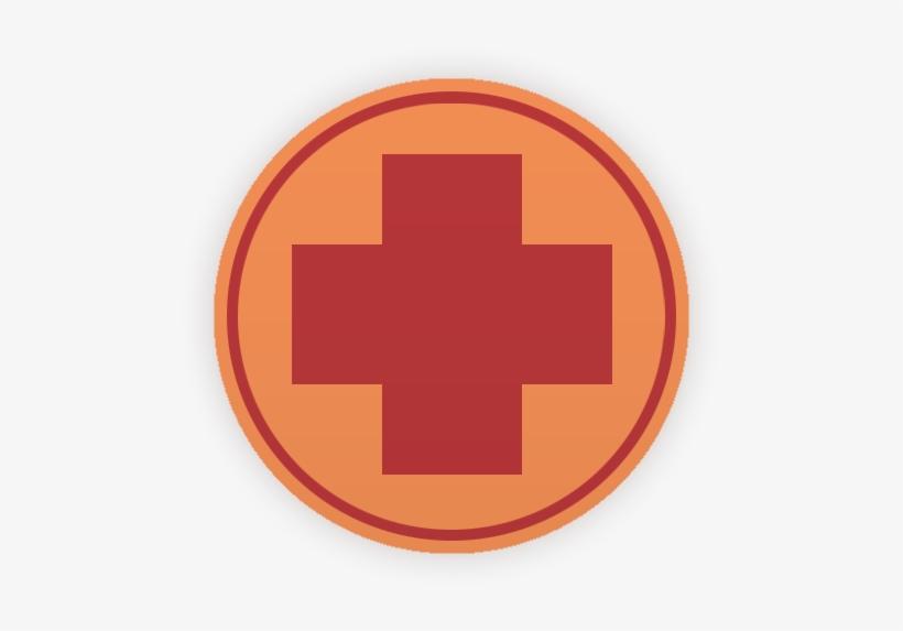 Red Medic Emblem Tf2 Team Fortress 2 Demoman Logo 540x540 Png