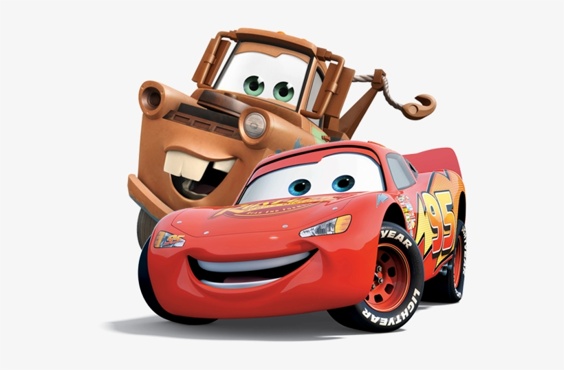 Fast As Lightning Rayo Mcqueen Y Mate Png 538x458 Png Download