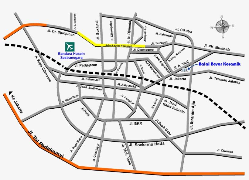 Organisasi Peta Kota Bandung Png 3461x2336 Png Download Pngkit