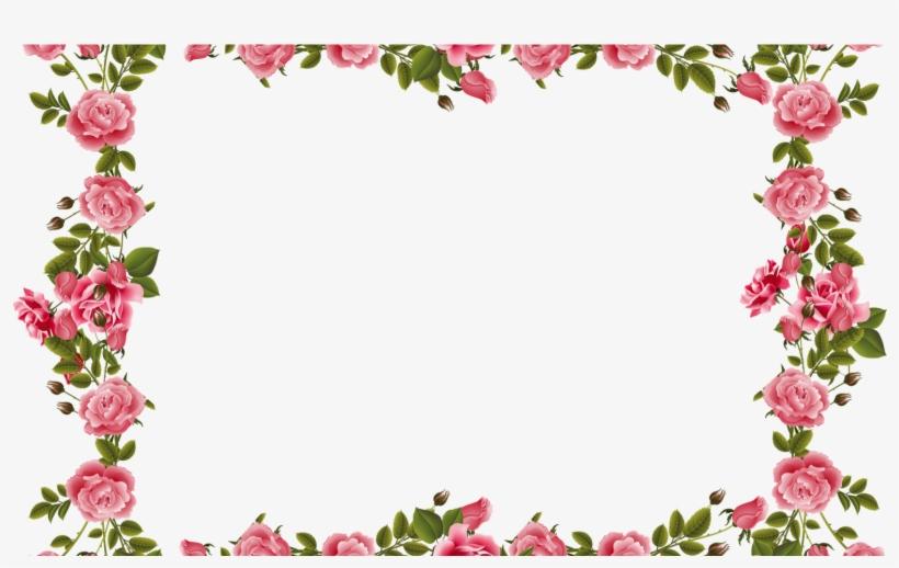 Red Rose Flower Border Design Designs Quotes Bordes De Flores