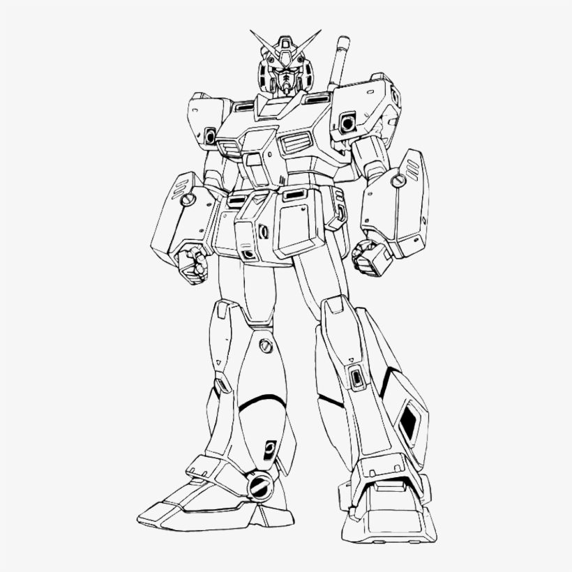 Imposing Ideas Gundam Coloring Pages Giant Robot Page Gundam