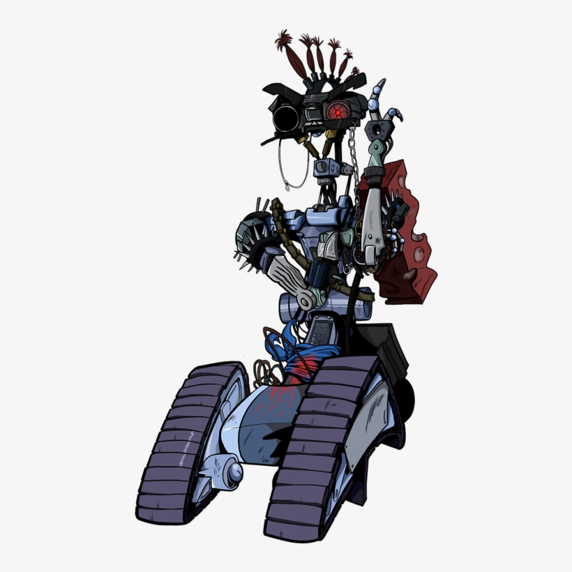 459 X 750 3 - Short Circuit Johnny 5 Punk@pngkit.com