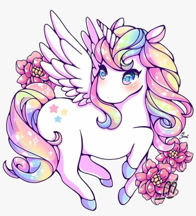 #unicorn #rainbow #rainbowunicorn #kawaii #cute - Cute ...