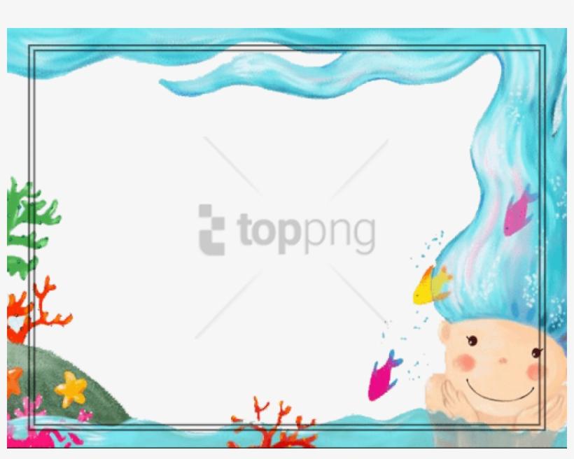 Free Png Download Moldura Fundo Do Mar Png Images Background