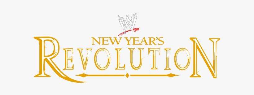 wwenyr wwe new year s revolution logo 603x229 png download pngkit wwenyr wwe new year s revolution logo