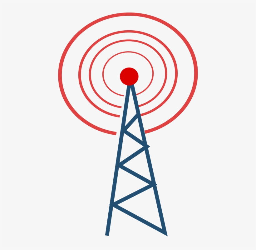 Communication Clipart Cell Tower Radio Tower Clipart 448x720 Png Download Pngkit
