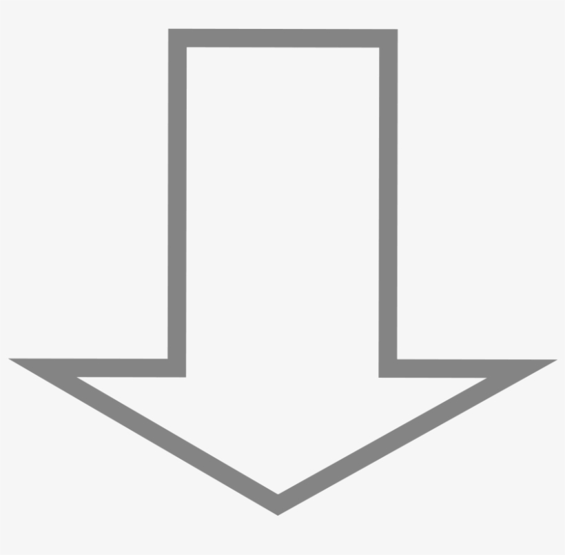 Down Arrow - Transparent Background Down Arrow - 823x768 PNG Download -  PNGkit