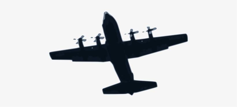 Airplane Free Vector Svg Vectorstash Hercules Aircraft