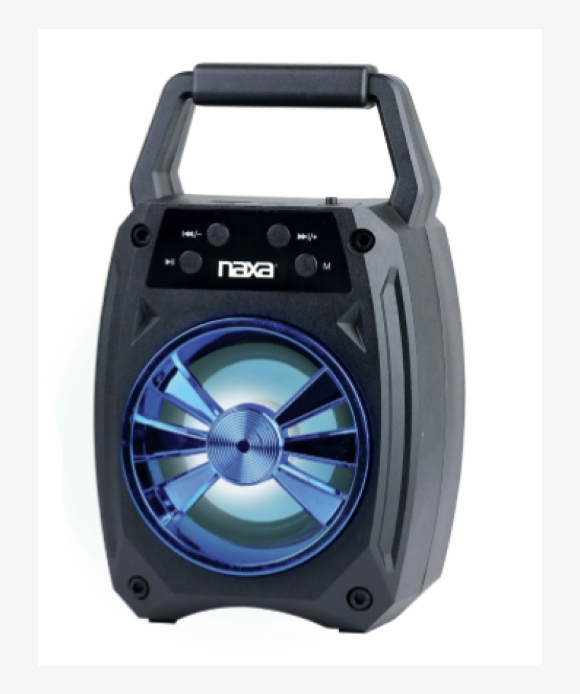 Portable Bluetooth® Speaker With Led Lighting Effects