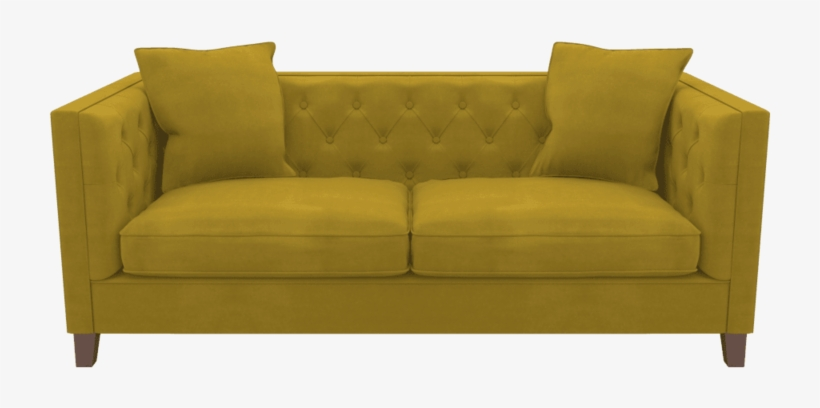 Yellow Sofa Transparent Background Loveseat 800x400 Png Download