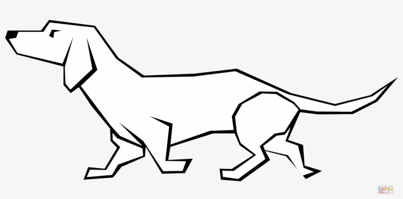 Dachshund Dog Zentangle Coloring Page by Pamela Kennedy | TpT | 405x820