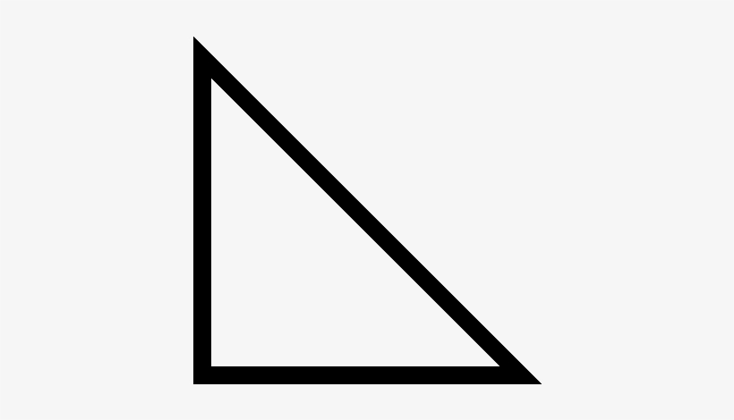 Triangles - Right Angled Triangle Shape - 520x520 PNG Download ...