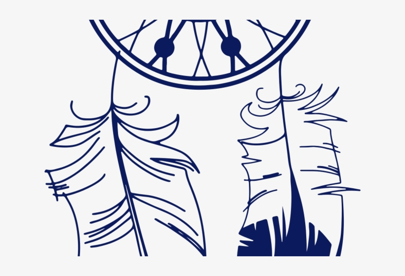 Dreamcatcher Clipart Beautiful Indian Feathers Svg 640x480 Png Download Pngkit