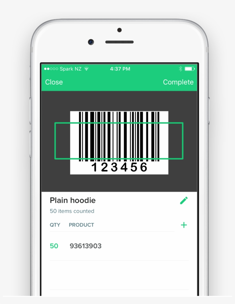 Free Scanner By Counter Free Inventory Barcode Scanner - Bar