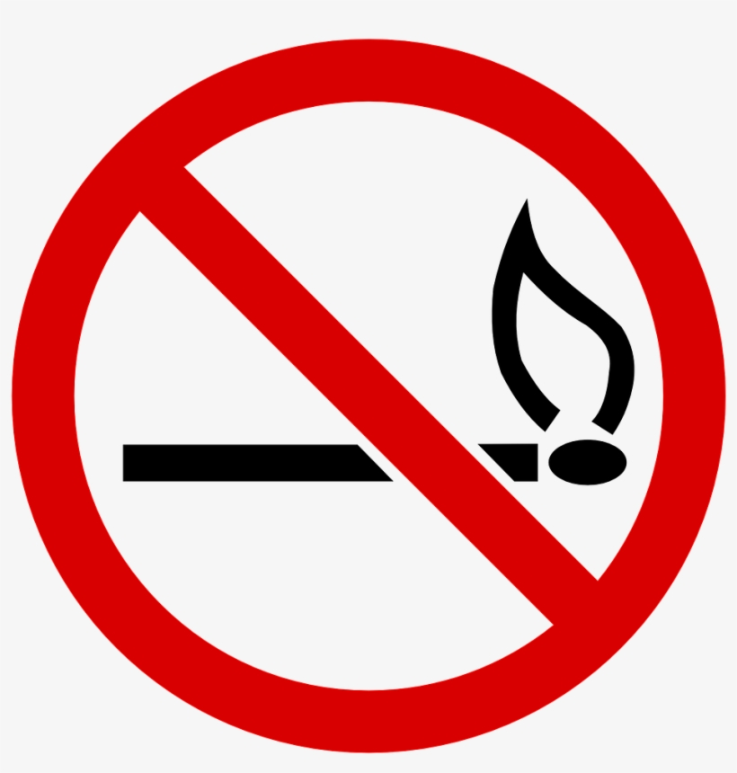 No Fire 98784 1280 E1456322590586 No Smoking Drawing Easy 976x966 Png Download Pngkit