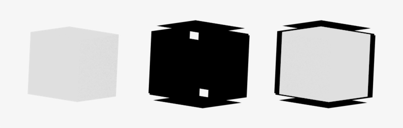 Sim - Unity Cube Outline Shader - 960x540 PNG Download - PNGkit