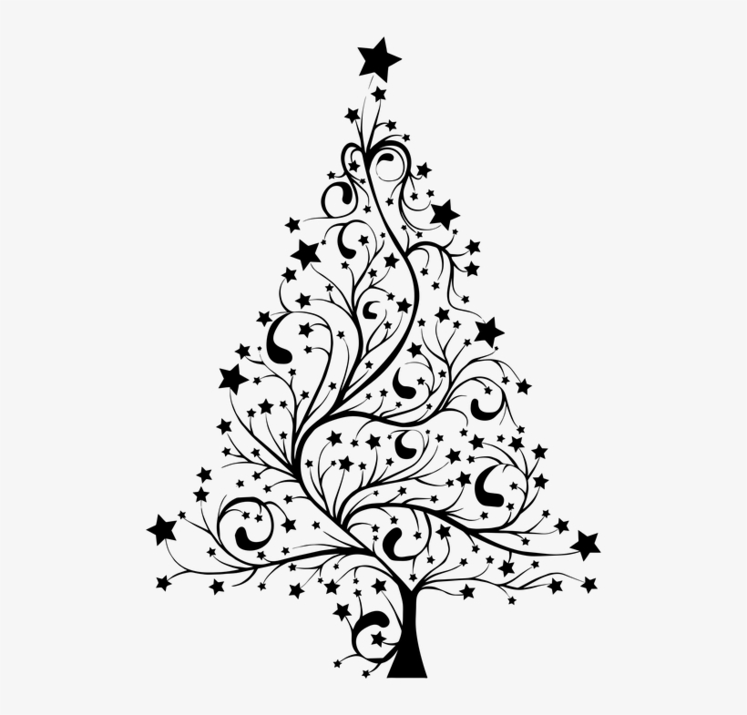 christmas tree clipart black and white christmas tree silhouette png 500x705 png download pngkit christmas tree clipart black and white