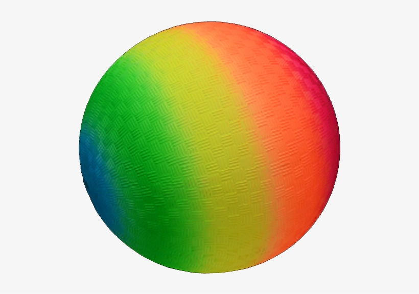 Neon Rainbow Round Ball - Circle - 536x521 PNG Download - PNGkit