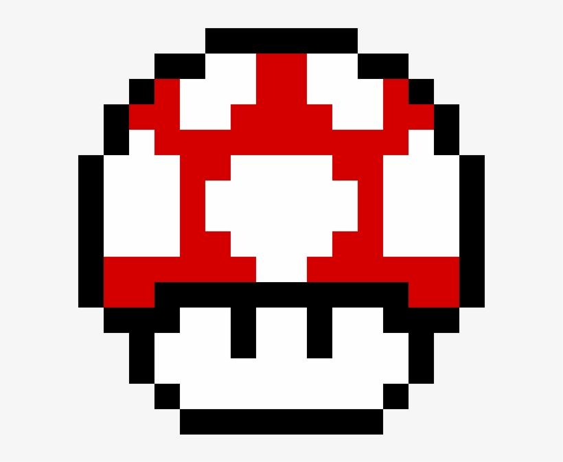 Mario Mushroom Pixel Mario Mushroom Gif 1184x1184 Png