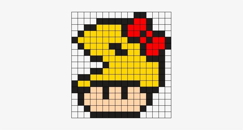 Ms Pacman Mushroom Pixel Art Rainbow Mushroom 337x358