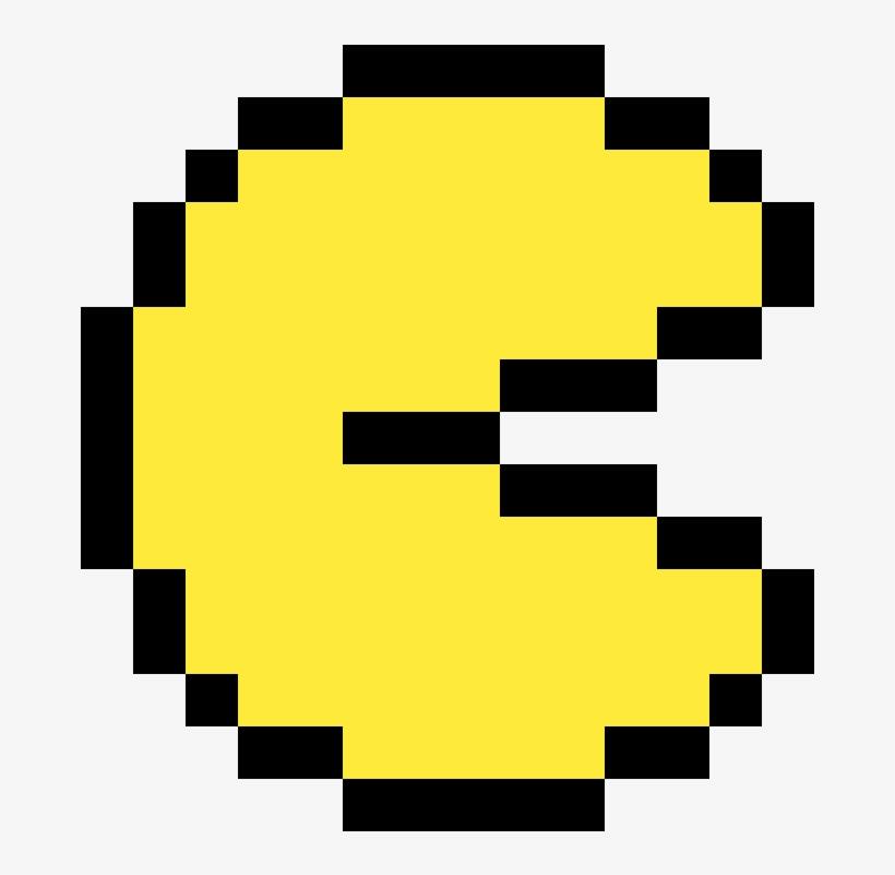 Pacman Smiley Pixel 1200x1200 Png Download Pngkit