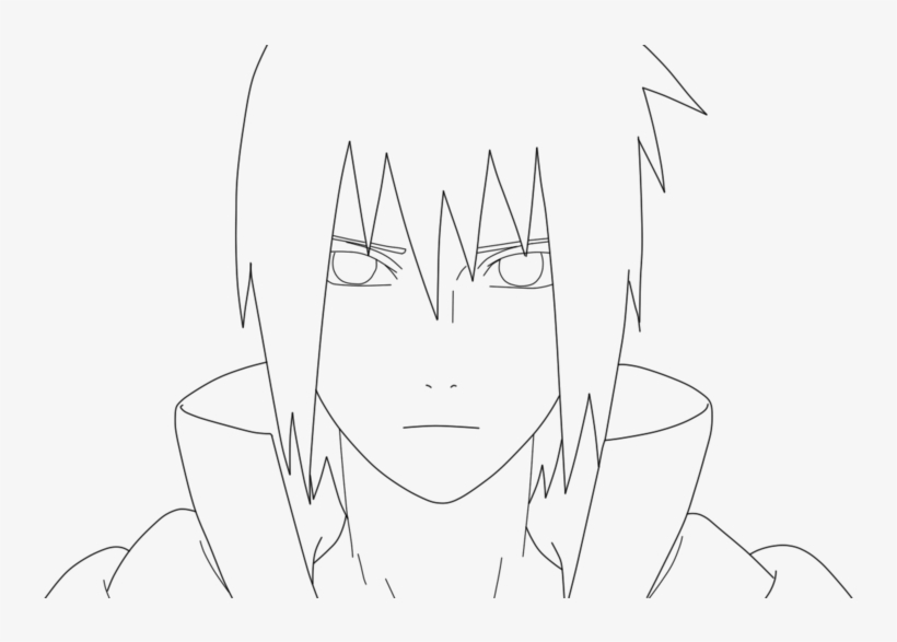 Sasuke Para Colorear Sasuke Uchiha Lineart By Grekck Dibujo De