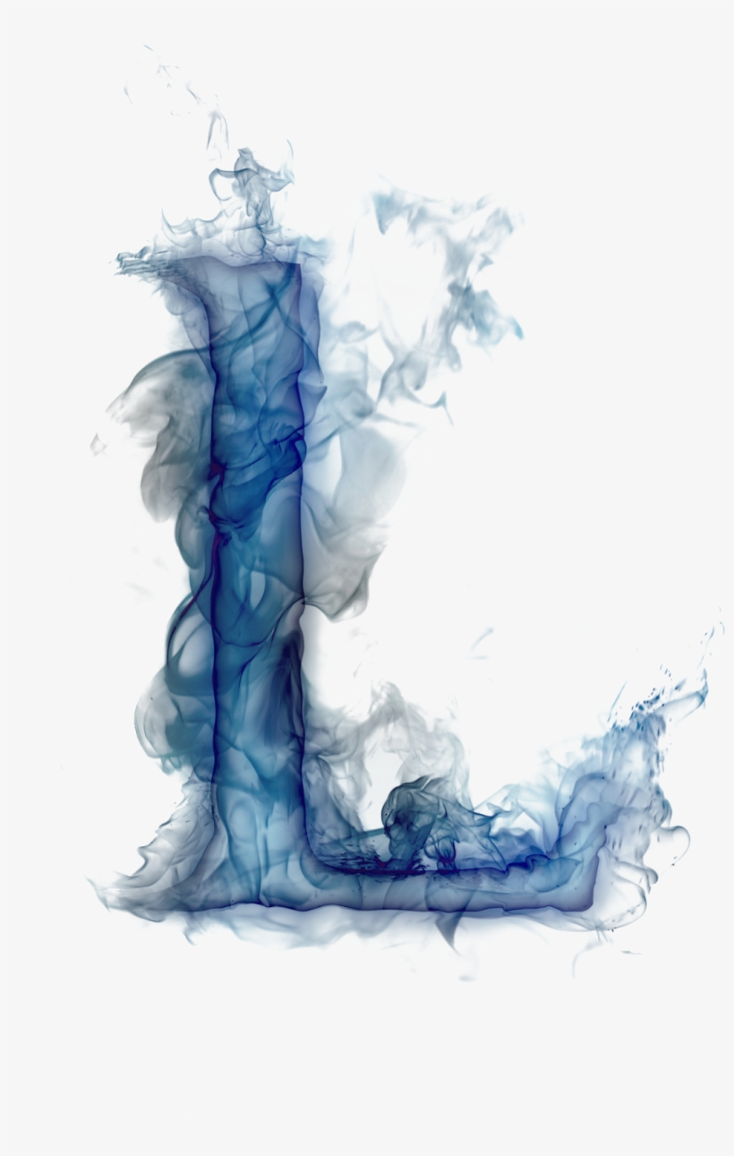 Blue Burning Letter L 1048x1600 Png Download Pngkit