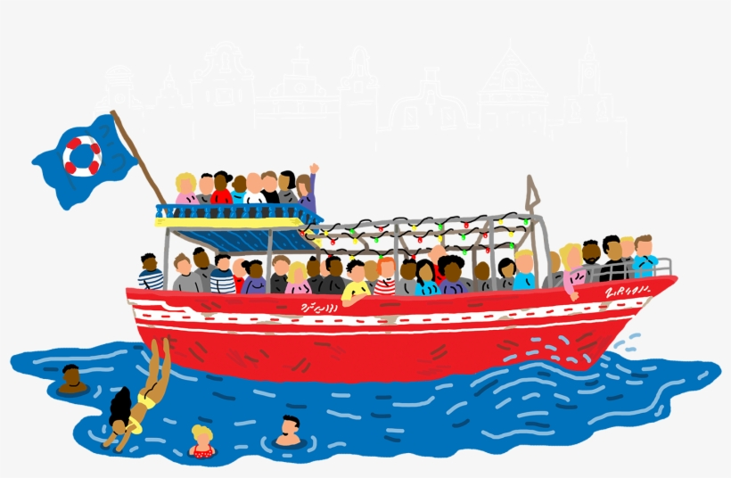 Cruise Clipart Boat Ride Frames Illustrations Tour Boat Clip Art 1500x1061 Png Download Pngkit