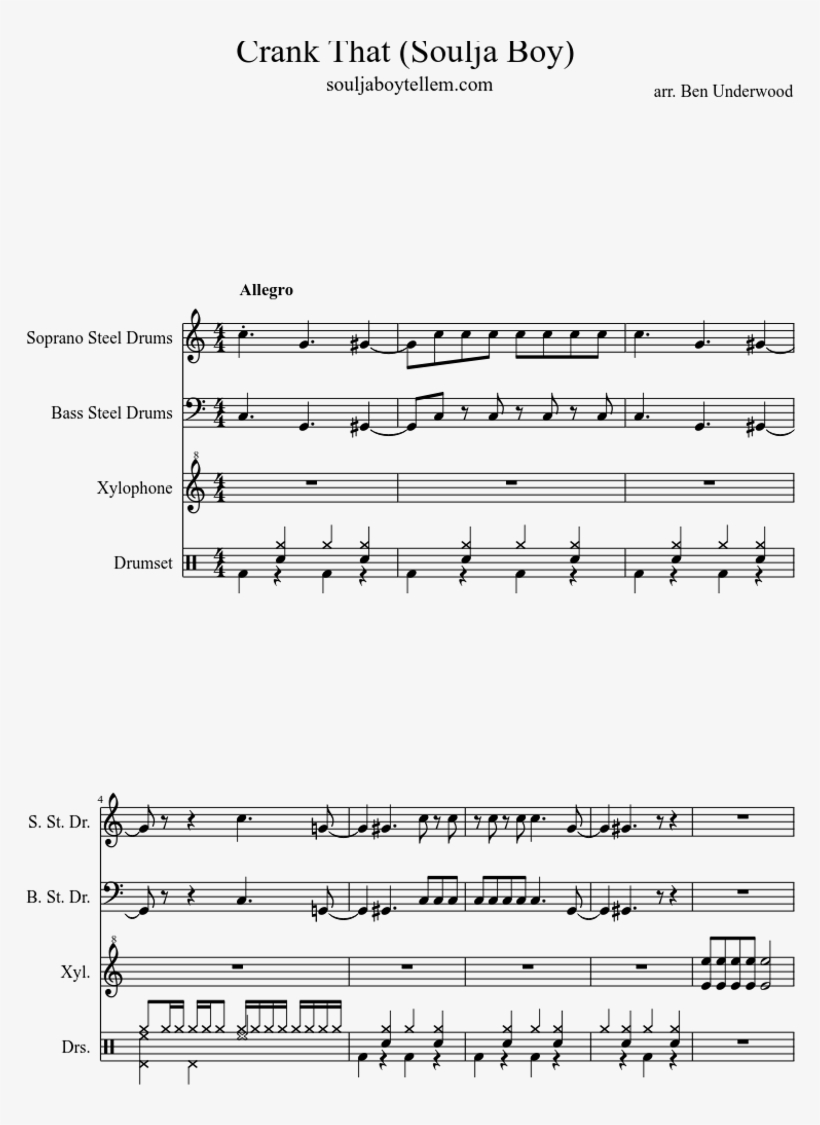 Trumpet Ark Survival Evolved Theme Song Sheet Music - 850x1100 PNG