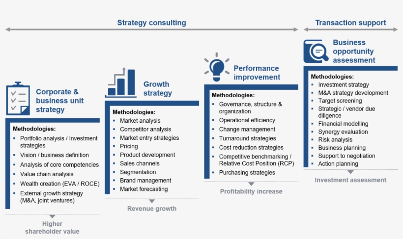 Clients To Increase Shareholder Value By Identifying Business Unit Strategy 1583x884 Png Download Pngkit