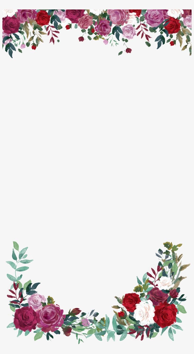 Roses Wedding Snapchat Filter Geofilter Maker On Filterpop