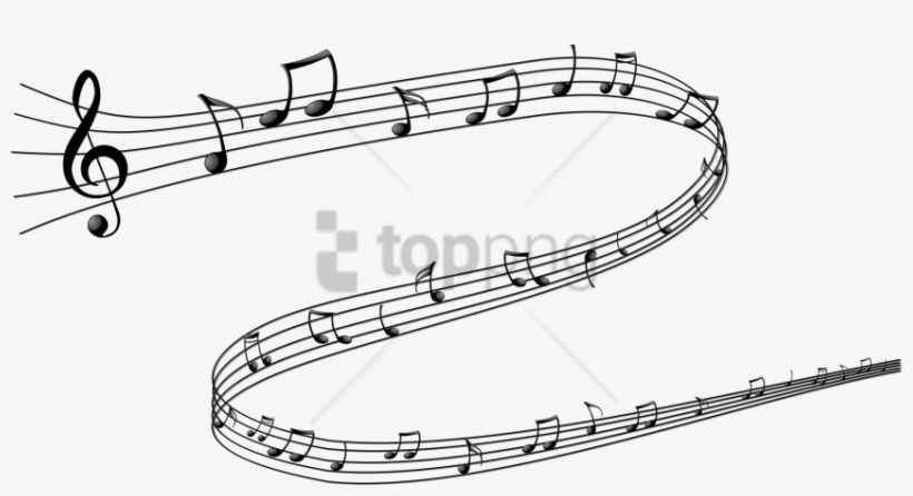 Free Png Download Color Music Notes Png Png Images Musical Note Png Transparent Background 850x421 Png Download Pngkit