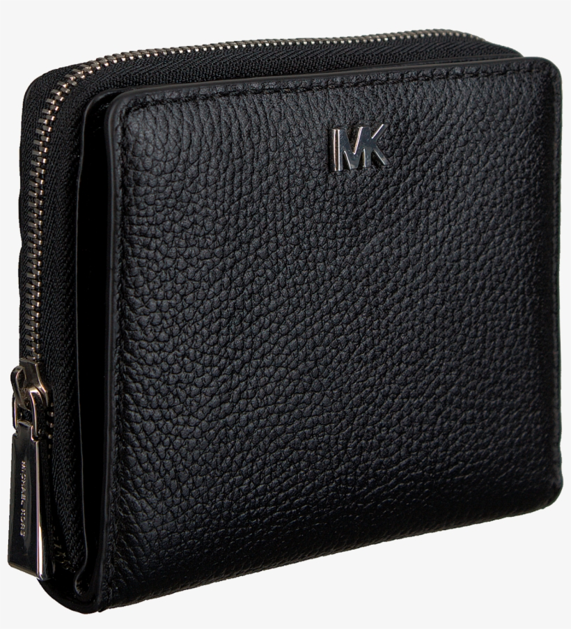 755d91f33cd Black Michael Kors Wallet Money Pieces Za Snap Wallet - Michael Kors  Portemonnee Money Pieces