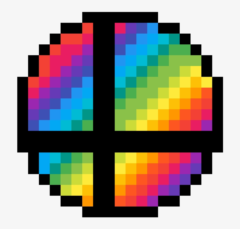 Smash Ball By Calebprime Smash Ball Pixel Art 1184x1184