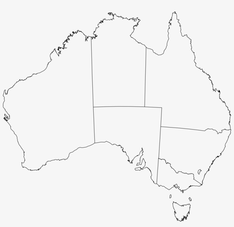 Australia Map Outline Vector.Just Arrived Australia Flag Outline Of Blank Map Clip Australia