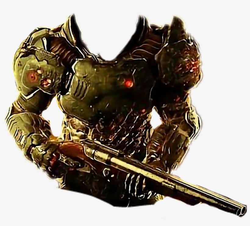 Doom Freetoedit Doomslayer Png Doom Player Concept Art