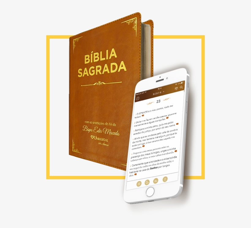 Biblia Com Anotacoes Do Bispo Macedo 518x664 Png Download Pngkit