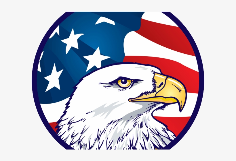 Drawn American Flag Transparent Background American Eagle